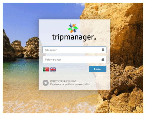 Screen Tripmanager